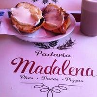 Photo taken at Padaria Madalena by Daniela Martin B. on 9/22/2013