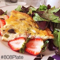 Photo taken at Cafe Laufer by 808Plate on 2/14/2015