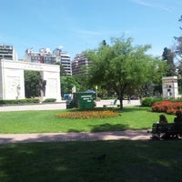 Photo taken at Parque Rivadavia by Pablo on 11/17/2012