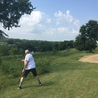 Photo taken at Bryant Lake Disc Golf Course by Joan F. on 8/1/2017