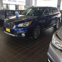 Photo taken at Bloomington Acura Subaru by Joan F. on 9/6/2017