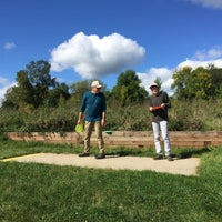 Photo taken at Bryant Lake Disc Golf Course by Joan F. on 9/27/2017