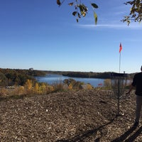 Photo taken at Bryant Lake Disc Golf Course by Joan F. on 10/17/2017