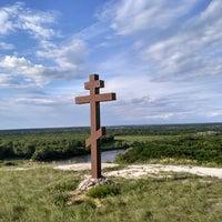 Photo taken at Белогорский мужской Монастырь by Denis K. on 6/13/2016