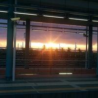 Photo taken at Eirini ISAP Station by Alexandra G. on 12/17/2013