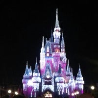Photo taken at Wishes Nighttime Spectacular by Tricia B. on 11/9/2012