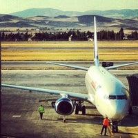 Photo taken at Ankara Esenboğa Airport (ESB) by İlknur C. on 9/29/2013