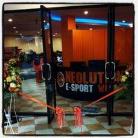 Photo taken at Neolution E-Sport Stadium by Karan N. on 11/19/2012