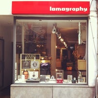 Photo taken at Lomography Gallery Store Antwerp by This Is Antwerp on 2/26/2014