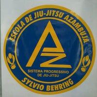Photo taken at Escola de Jiu-Jitsu Azambuja Behring by Gabriel W. on 11/22/2013