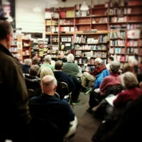 Photo taken at Harvard Book Store by Ukemeabasi E. on 2/15/2013