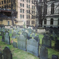 Photo taken at King's Chapel Burying Ground by Ukemeabasi E. on 1/20/2013