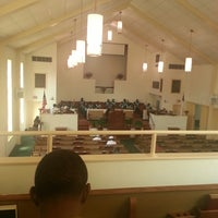 Photo taken at Second Free Mission Baptist Church by Melvin B. on 9/29/2013