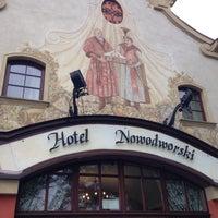 Photo taken at Hotel Nowogrodzki by Diana B. on 10/8/2016