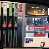 Photo taken at TOTAL Tankstelle by Diana B. on 11/25/2015