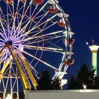 Photo taken at North Carolina State Fairgrounds by Kate C. on 10/16/2012