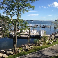 Photo taken at Mystic Yachting Center by Alex B. on 6/6/2014