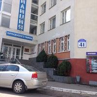 Photo taken at РУВД Фрунзенского района by Oleg M. on 4/16/2014