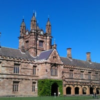 Photo taken at The University of Sydney (USYD) by mool 張. on 10/10/2012