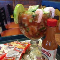Photo taken at Cazadores Mexican Food by Cindy B. on 12/5/2014