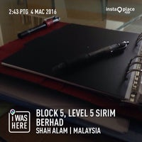 Photo taken at SIRIM by Mohamad Fauzi A. on 3/4/2016