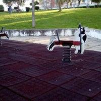 Photo taken at Parque Urbano de Via Rara by Magda S. on 4/8/2014