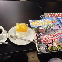 Photo taken at ines Fukuyama Cafe Impostare by kazunari i. on 8/18/2014