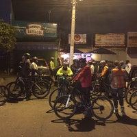 Photo taken at Paseo Ciclista Barbas bike by Oasisantonio on 2/4/2015