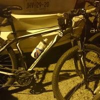 Photo taken at Paseo Ciclista Barbas bike by Oasisantonio on 11/19/2014