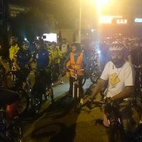 Photo taken at Paseo Ciclista Barbas bike by Oasisantonio on 10/8/2014