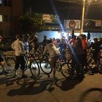 Photo taken at Paseo Ciclista Barbas bike by Oasisantonio on 1/20/2016