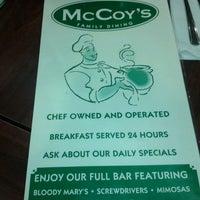 Photo taken at McCoy's Restaurant by david v. on 7/5/2013