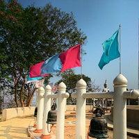 Photo taken at Wat Khao Phutthakhodom by Takorn B. on 3/20/2014