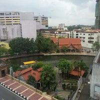 Photo taken at WANA Riverside Hotel Malacca by Azizan • V§ on 4/6/2013
