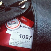 Photo taken at CIMB Bank by Farah S. on 1/20/2014
