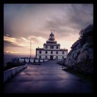 Photo taken at Faro de Fisterra by Ivan L. on 10/17/2012