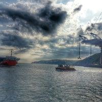 Photo taken at 3rd Bosphorus Bridge South Tower by Onur İ. on 6/4/2015