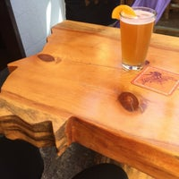 Photo taken at Lewis & Clark Brewery & Tap Room by Emily R. on 7/29/2015
