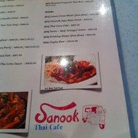 Photo taken at Sanook Thai Cafe by Li Li C. on 12/21/2013