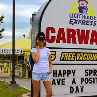 Photo taken at Lighthouse Express Car Wash by Brian H. on 5/30/2014