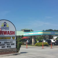 Photo taken at Lighthouse Express Car Wash by Brian H. on 6/15/2013
