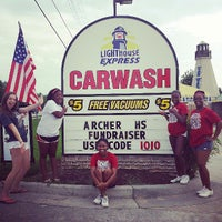 Photo taken at Lighthouse Express Car Wash by Brian H. on 7/26/2013