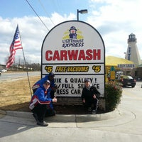 Photo taken at Lighthouse Express Car Wash by Brian H. on 3/26/2013