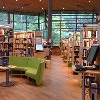 Photo taken at Haninge Bibliotek by TC Hatice S. on 10/4/2014