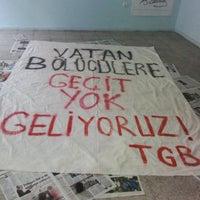 Photo taken at Türkiye Gençlik Birliği Adana Bürosu by Irmak İnci Ö. on 8/6/2014