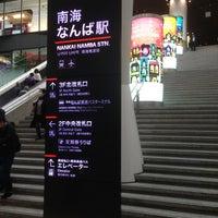 Photo taken at Nankai Namba Station (NK01) by Goki. U. on 1/2/2013