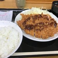 Photo taken at とんかつ まるや 新橋駅前店 by toshiyuki F. on 1/9/2018