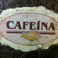 Photo taken at Cafeína by Jonas J. on 12/3/2012