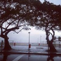 Photo taken at Orla de Copacabana by Déscio O. on 11/17/2013
