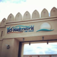 Photo taken at Yas Waterworld by Alex on 12/5/2013